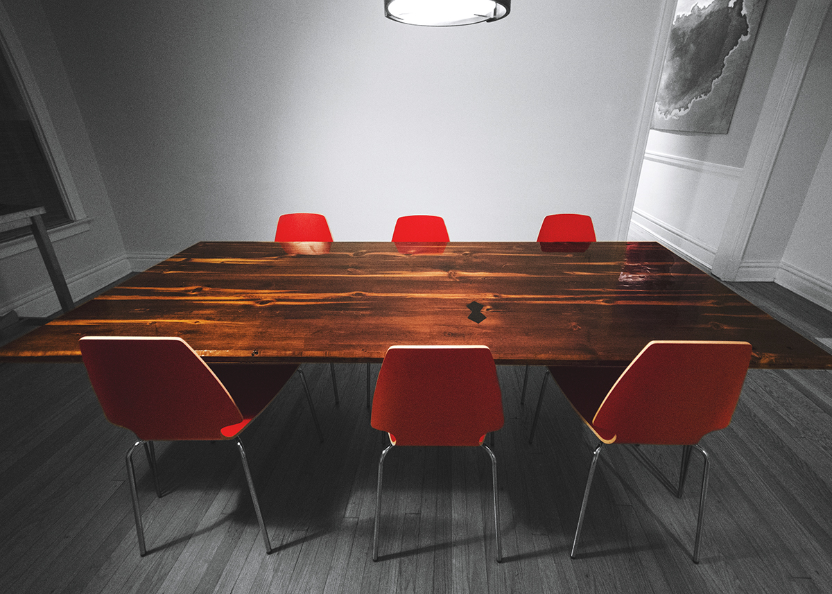 x leg dining table plans