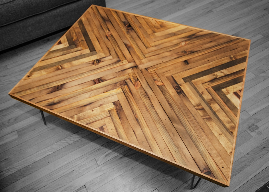 Herringbone Coffee Table Top